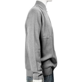Varna Full Zip Sweater by TRIMARK Printed with Your Logo