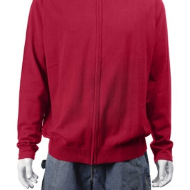 Logo Varna Full Zip Sweater by TRIMARK
