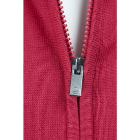 Promotional Varna Full Zip Sweater by TRIMARK