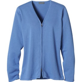 Imprinted Varna Full Zip Sweater by TRIMARK
