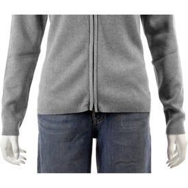 Varna Full Zip Sweater by TRIMARK Imprinted with Your Logo