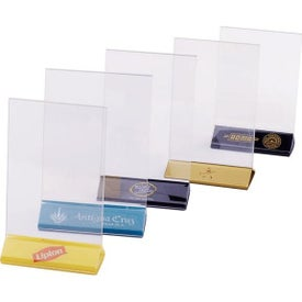 Double Sided Clear Sign Holders