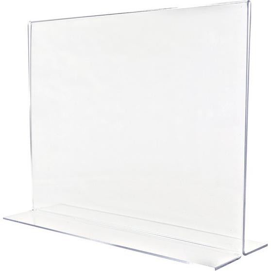 Clear Large Sign Holder