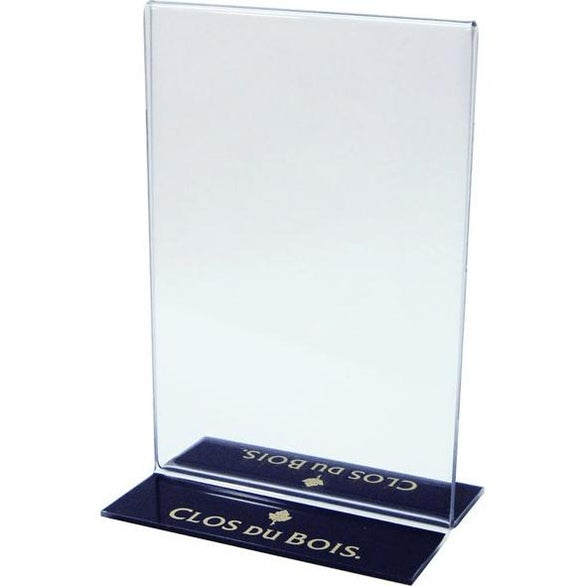 Clear Premium Acrylic Sign Holder