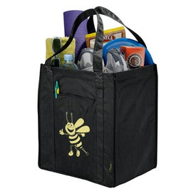 100% Recycled PET Big Grocery Tote for Your Company