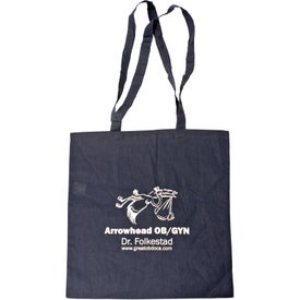 100% Cotton Tote Bag Branded with Your Logo