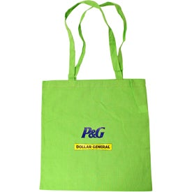 Personalized 100% Cotton Tote Bag