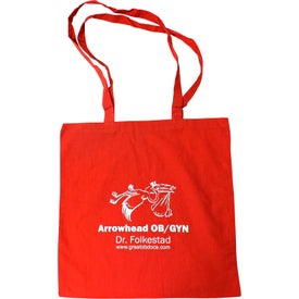 100% Cotton Tote Bag Printed with Your Logo