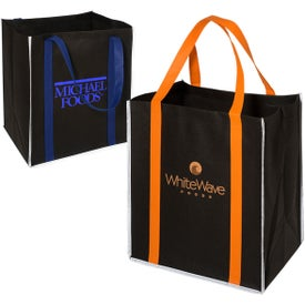 100GSM Reflective Metro Enviro-Shopper Tote Bag