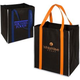100GSM Reflective Metro Enviro-Shopper Tote Bag