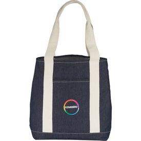 12 Oz. Cotton Denim Carry All Tote Bag