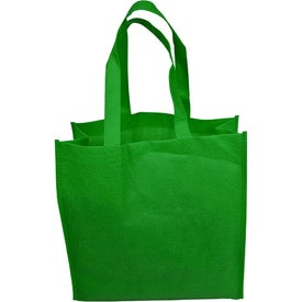 "13"" Non-Woven Tote Bag Printed with Your Logo"