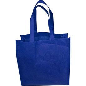 """Imprinted 13"""" Non-Woven Tote Bag"""