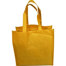 "13"" Non-Woven Tote Bag with Your Logo"