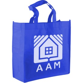 """13"""" Non-Woven Tote Bag Imprinted with Your Logo"""