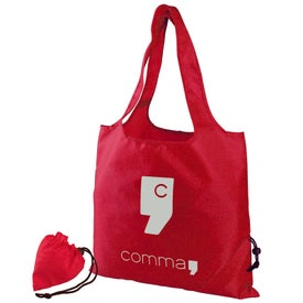 "Personalized 15"" Cinch Travel Tote Bag"