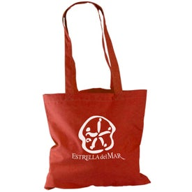 "Monogrammed 15"" Cotton Tote Bag"