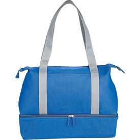 Atlantic Cotton Canvas Weekender Tote Bag