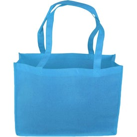 "16"" Non-Woven Tote Bag Branded with Your Logo"