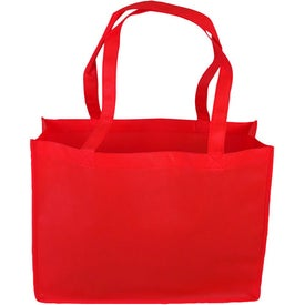 """16"""" Non-Woven Tote Bag Printed with Your Logo"""