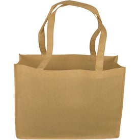 "16"" Non-Woven Tote Bag Printed with Your Logo"