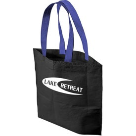 2 Tone Bottom Gusset Tote Bag for your School