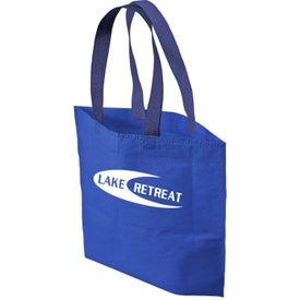 Custom 2 Tone Bottom Gusset Tote Bag
