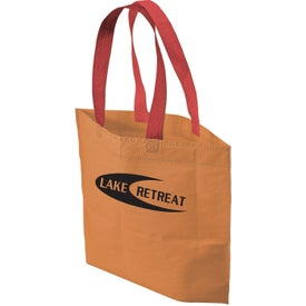 2 Tone Bottom Gusset Tote Bag for Customization