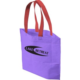 Promotional 2 Tone Bottom Gusset Tote Bag