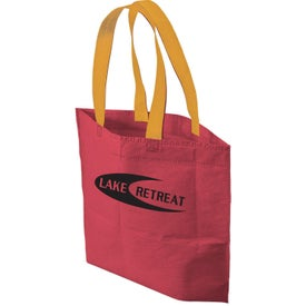 2 Tone Bottom Gusset Tote Bag for Marketing