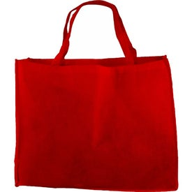 "20"" Non-Woven Tote Bag Branded with Your Logo"