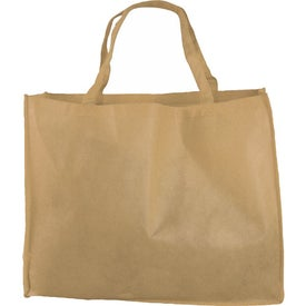 """20"""" Non-Woven Tote Bag Branded with Your Logo"""