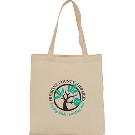 4 Oz. Cotton Basic Tote Bag