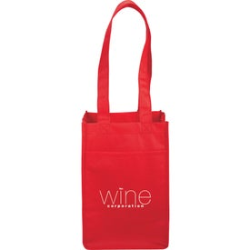 4-Pack Wine Tote Bag