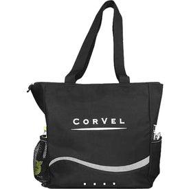 Branded 4 Square Tote Bag