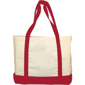 Monogrammed Accent Tote