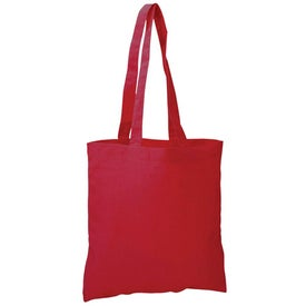 Colored Economy Tote Bag Printed with Your Logo