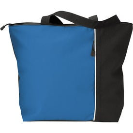 Maris Vertical Two-Tone Tote Bag for Promotion