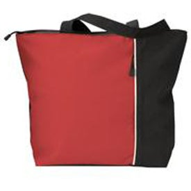 Branded Maris Vertical Two-Tone Tote Bag