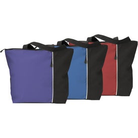 Maris Vertical Two-Tone Tote Bag