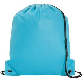 Poly Pro Drawstring Tote Bag Giveaways