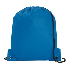 Poly Pro Drawstring Tote Bag with Your Logo