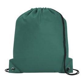 Advertising Poly Pro Drawstring Tote Bag
