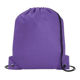 Logo Poly Pro Drawstring Tote Bag