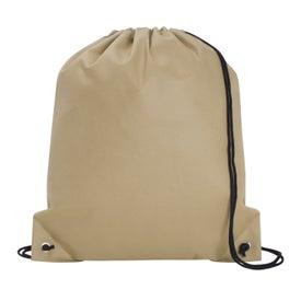 Poly Pro Drawstring Tote Bag Giveaways