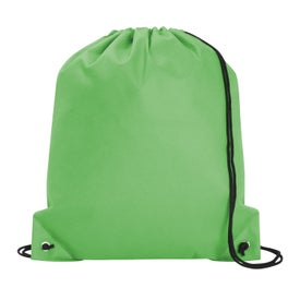Promotional Poly Pro Drawstring Tote Bag