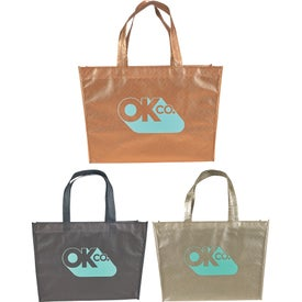 Alloy Laminated Shopper Tote Bag