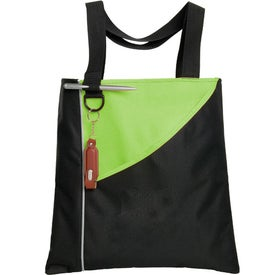 Monogrammed Angle Convention Tote Bag