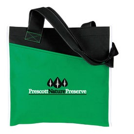 Angled Pocket Non Woven Tote with Your Logo