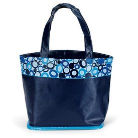 Printed Annabelle Laminated Tote